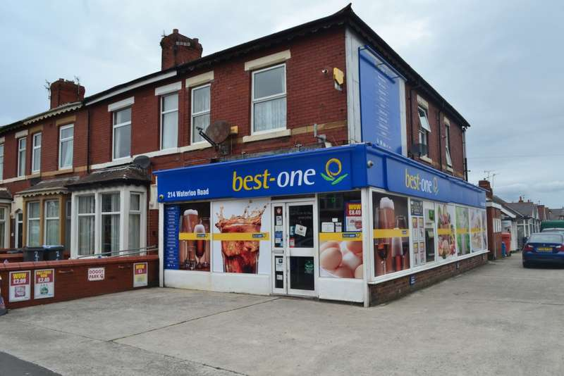 2 Bedrooms Shop Commercial for sale in Waterloo Road, Blackpool, FY4