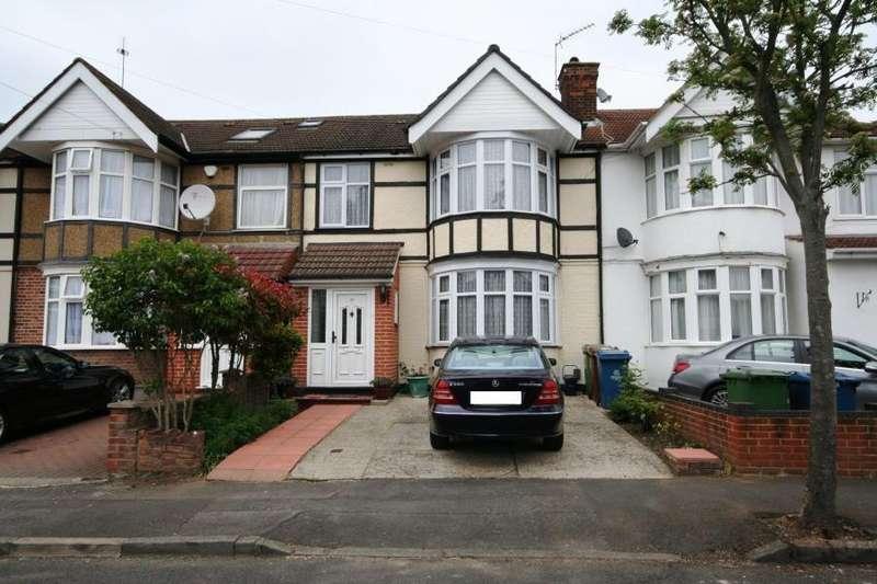 3 Bedrooms Terraced House for sale in Hughenden Avenue, Kenton HA3 8HA