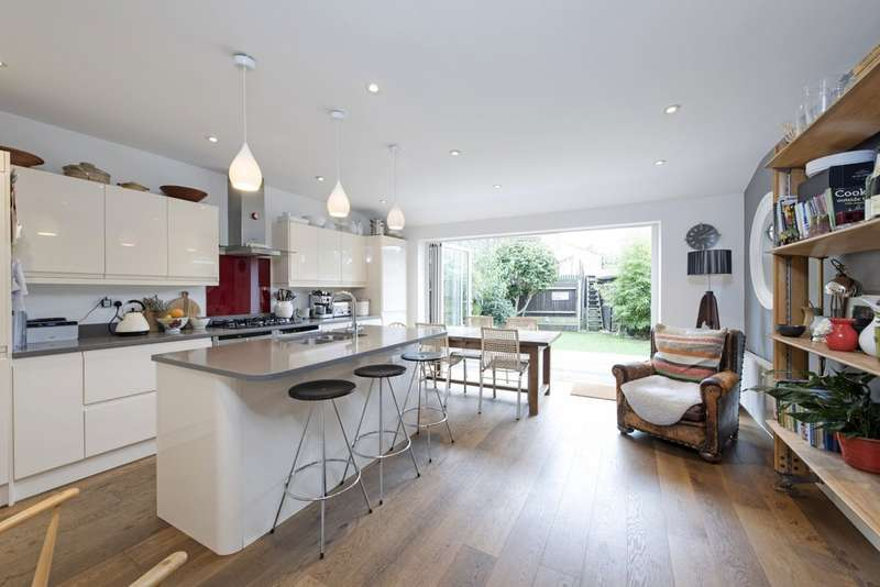 4 Bedrooms Terraced House for sale in Chatto Road, Battersea, London