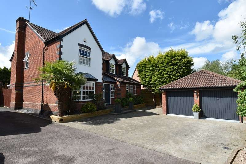 5 Bedrooms Detached House for sale in Tay Avenue, Worcester