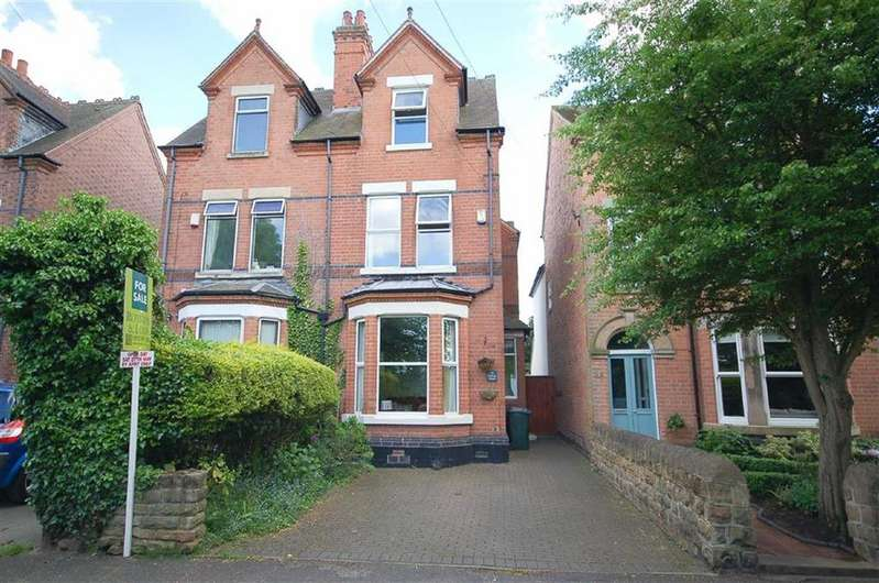 4 Bedrooms Semi Detached House for sale in Holme Road, West Bridgford