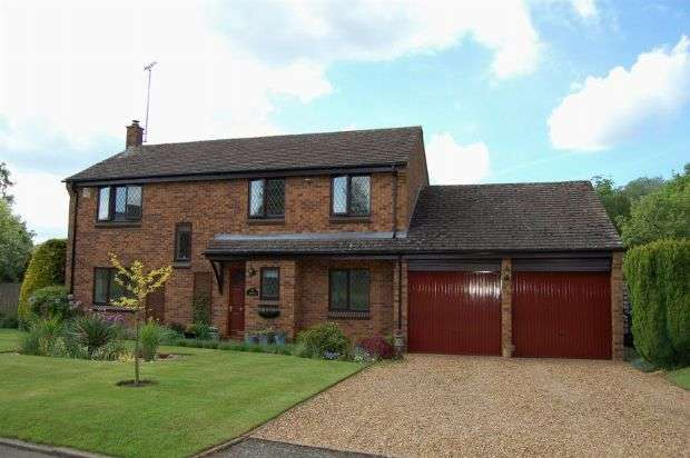 4 Bedrooms Detached House for sale in The Laurels, Moulton, Northampton NN3 7EQ