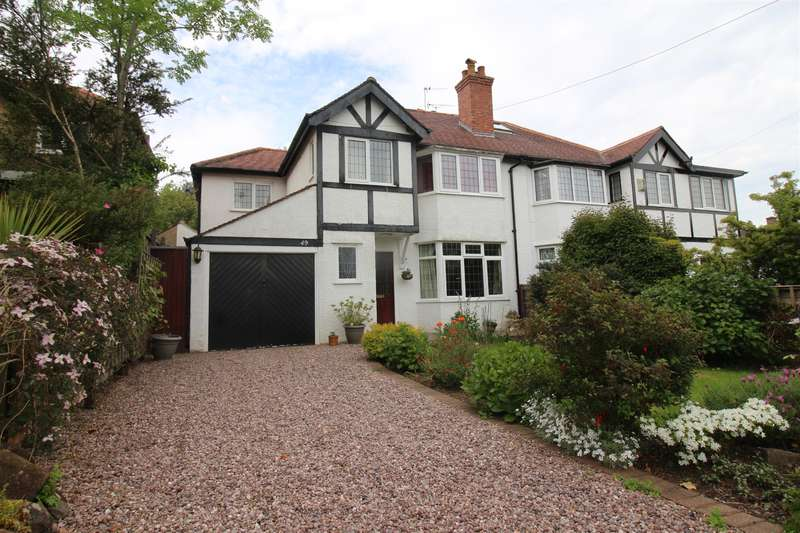 3 Bedrooms Semi Detached House for sale in Hawthorn Drive, Heswall, Wirral, CH61 6UP