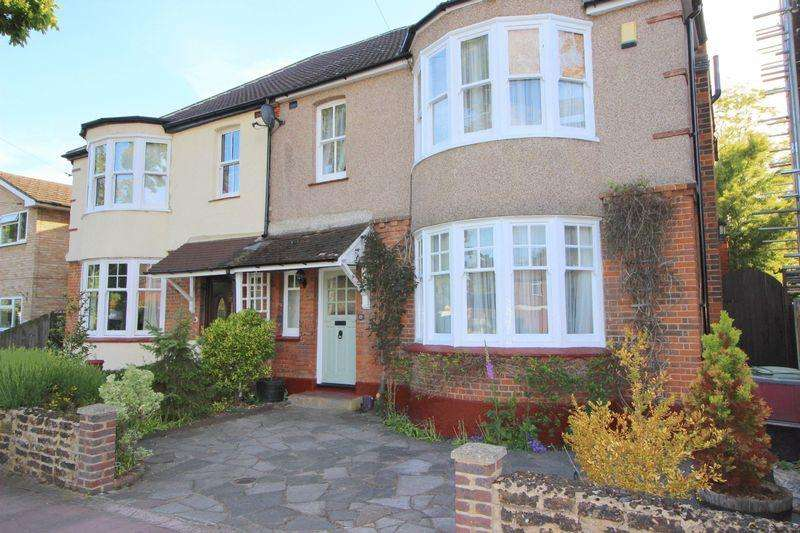 4 Bedrooms Semi Detached House for sale in Old Farm Road East, Sidcup, DA15 8AE