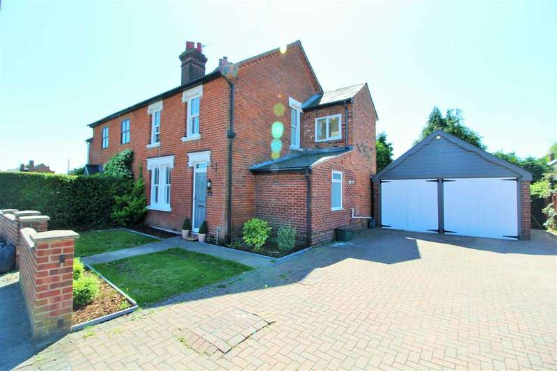 3 Bedrooms Semi Detached House for sale in Blackheath, Colchester