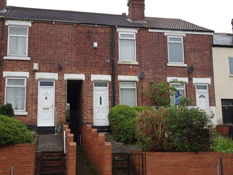 2 Bedrooms Terraced House for sale in 19 Foljambe Road, Eastwood, Rotherham S65 2UA