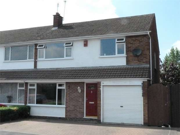 4 Bedrooms Semi Detached House for sale in Lutterworth