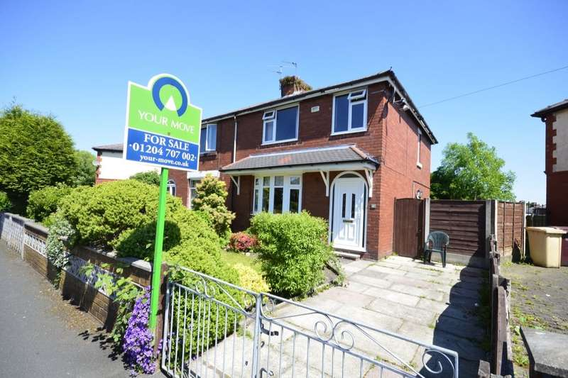 3 Bedrooms Semi Detached House for sale in Aster Avenue, Farnworth, Bolton, BL4