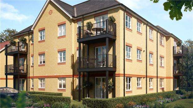 1 Bedroom Apartment Flat for sale in Holywell Way, Stanwell, Staines-upon-Thames