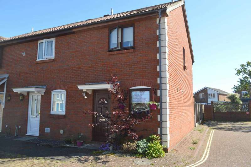 2 Bedrooms End Of Terrace House for sale in Kynon Close, Gosport