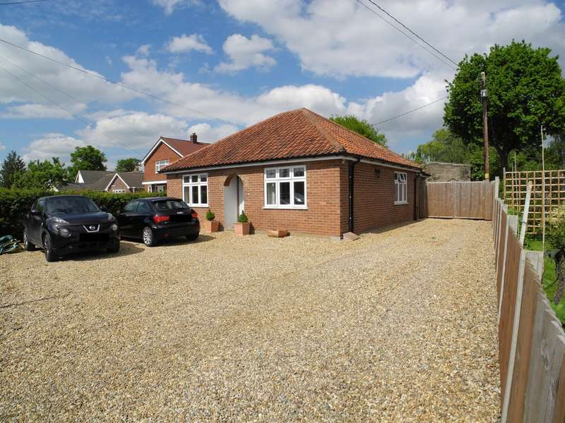 3 Bedrooms Detached Bungalow for sale in New Road, Hethersett