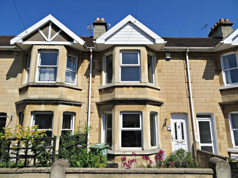 3 Bedrooms Terraced House for sale in Beckhampton Road, Oldfield Park, Bath