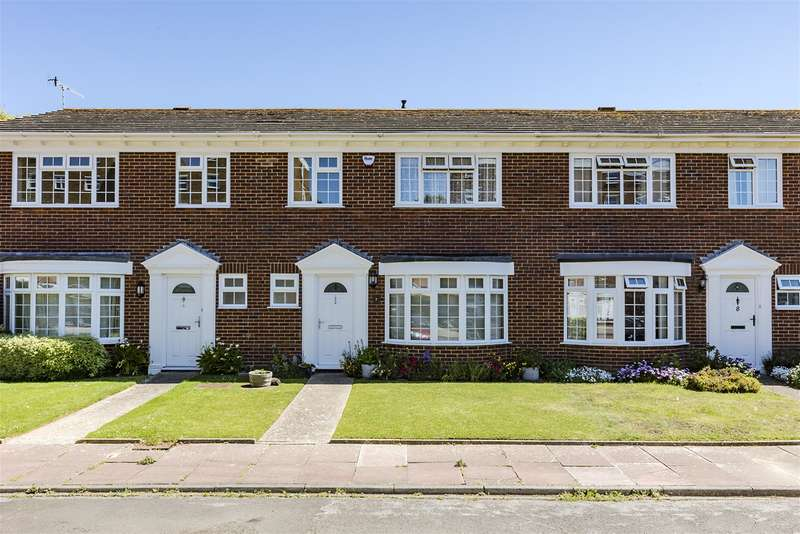 3 Bedrooms Terraced House for sale in Langham Gardens, Worthing, West Sussex, BN11 5BN
