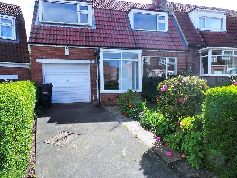 3 Bedrooms Semi Detached House for sale in Douglas Gardens, Dunston, Gateshead NE11