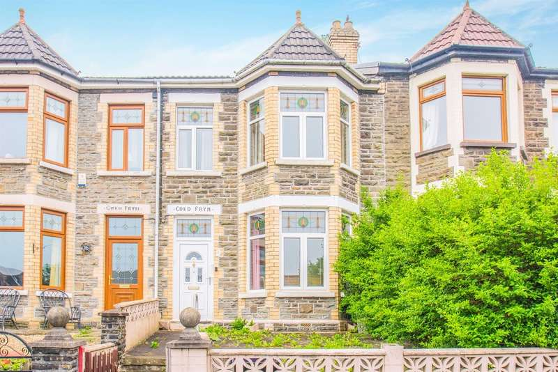 3 Bedrooms Terraced House for sale in Park Crescent, Bargoed