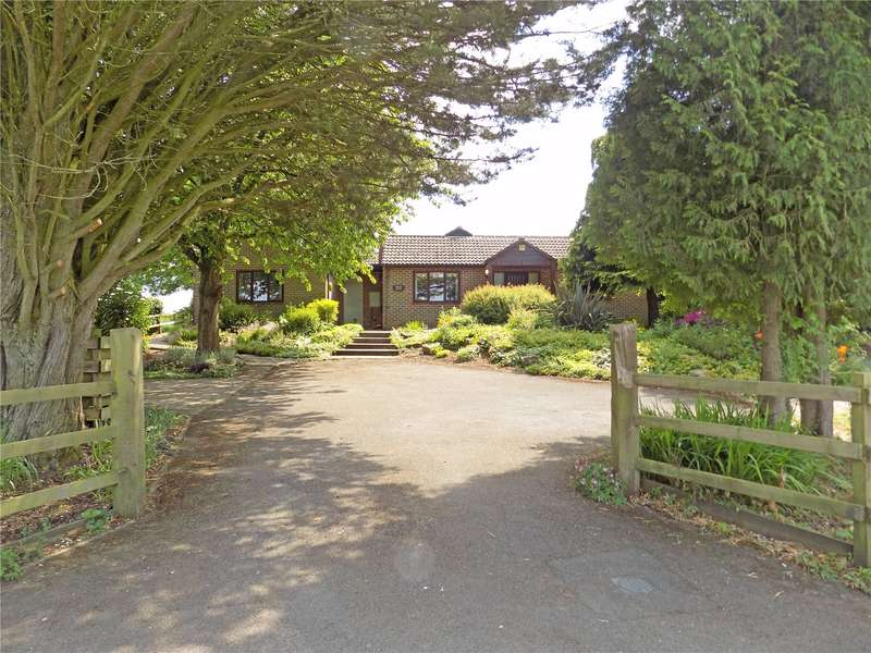5 Bedrooms Detached Bungalow for sale in Alresford Drove, South Wonston, Winchester, Hampshire, SO21