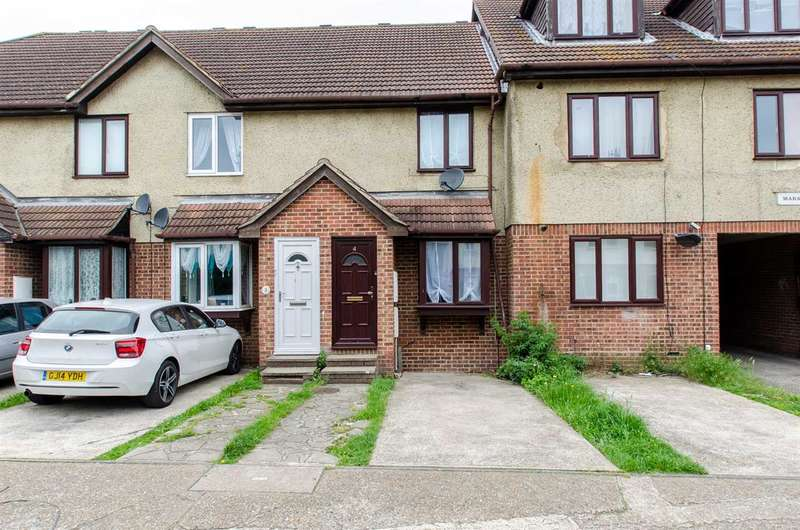 2 Bedrooms Terraced House for sale in Mara Court, White Road, Chatham