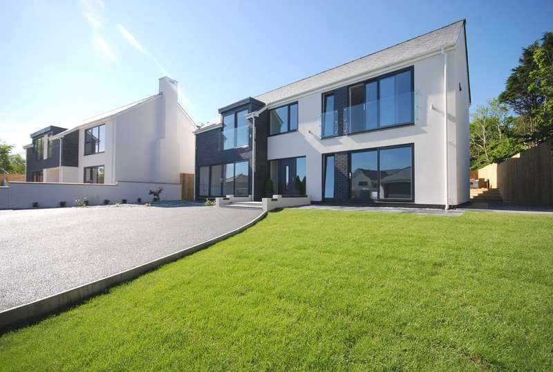 5 Bedrooms Detached House for sale in 4 Sea View Court, Fontygary Road, Rhoose, Vale of Glamorgan, CF62 3DU