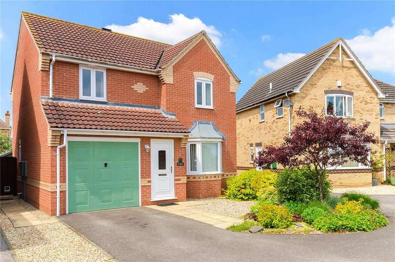 3 Bedrooms Detached House for sale in Chestnut Close, Metheringham, Lincoln, Lincolnshire, LN4
