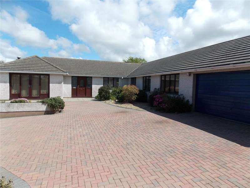 4 Bedrooms Detached Bungalow for sale in Golden Meadow, Richards Lane, Illogan