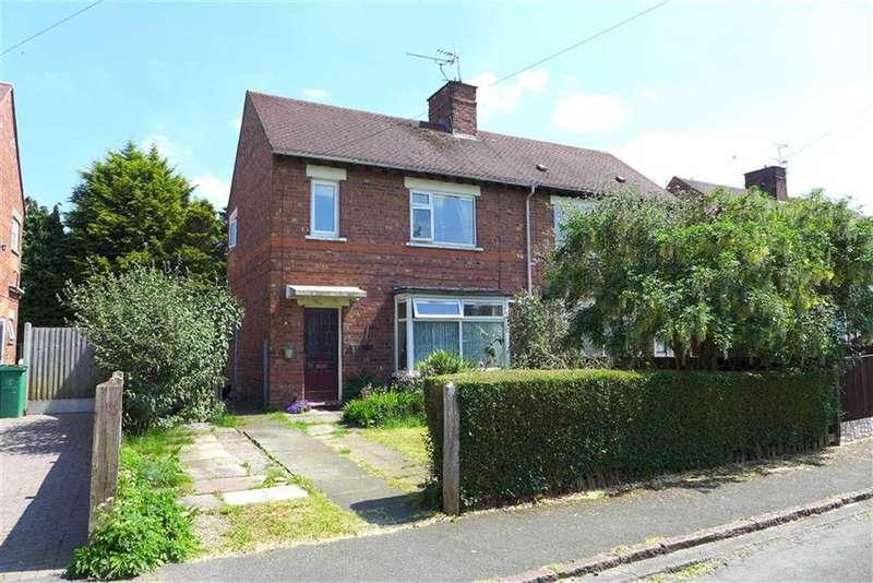 2 Bedrooms Semi Detached House for sale in Bowen Cooke Avenue, Crewe