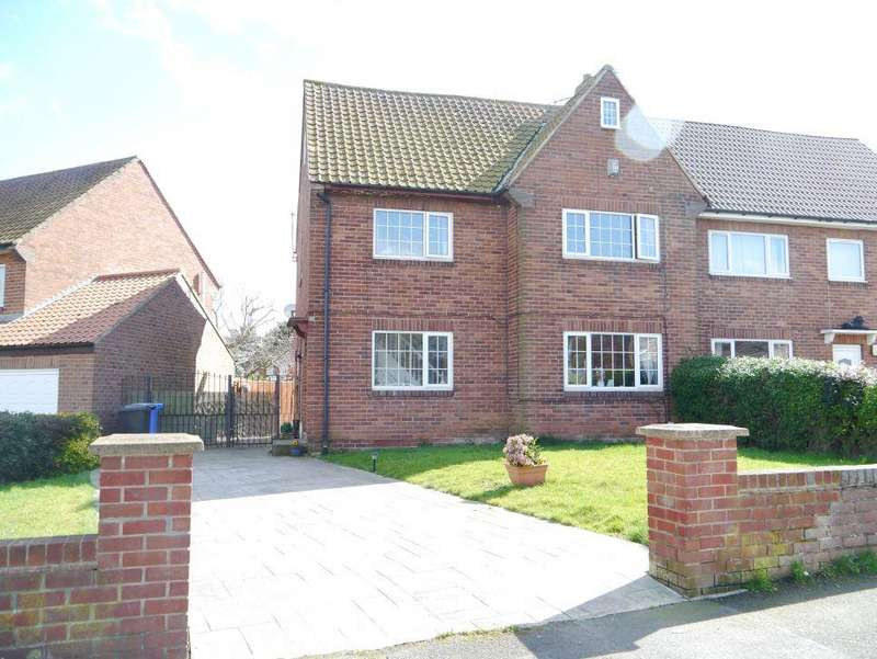 5 Bedrooms Semi Detached House for sale in Thornhill Road, Ponteland