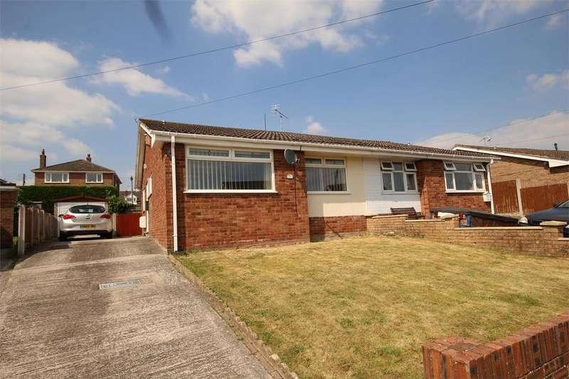 2 Bedrooms Semi Detached Bungalow for sale in Mayfield Drive, Buckley, Flintshire