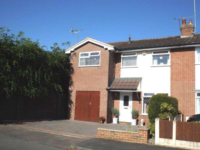 4 Bedrooms Semi Detached House for sale in Wessex Close, Shavington