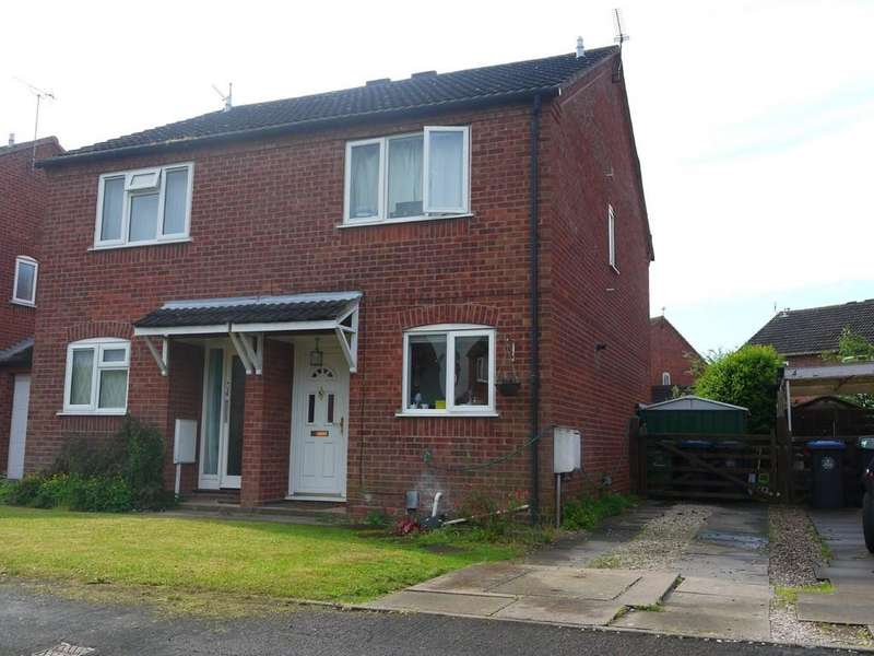 2 Bedrooms Semi Detached House for sale in Manston Drive, Wellesbourne