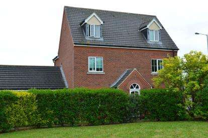 5 Bedrooms Detached House for sale in Turnbull Road, Fradley, Lichfield