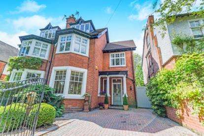 4 Bedrooms Semi Detached House for sale in Alverston Road, Nottingham, Nottinghamshire