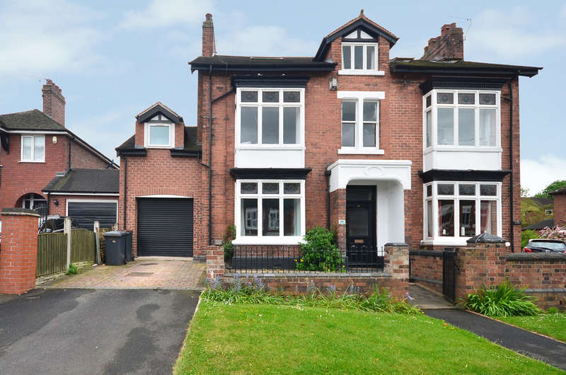 4 Bedrooms Semi Detached House for sale in Badger House Silverdale Newcastle