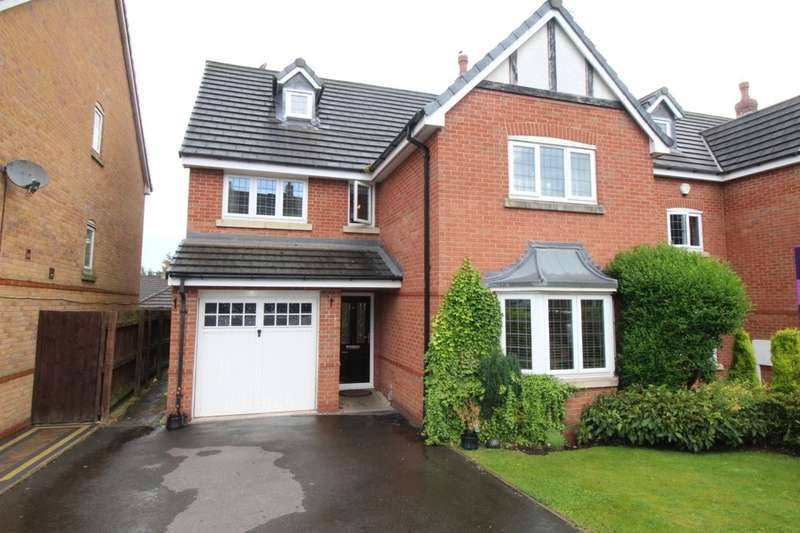 4 Bedrooms Detached House for sale in Beaumont Rise, Stallington Village, Blythe Bridge, Stoke-On-Trent, ST11