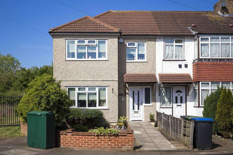 3 Bedrooms Terraced House for sale in Aldridge Avenue, Enfield, London, EN3