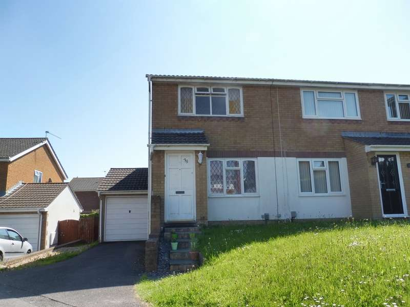 2 Bedrooms Semi Detached House for sale in Spencer Drive, Llandough, Penarth
