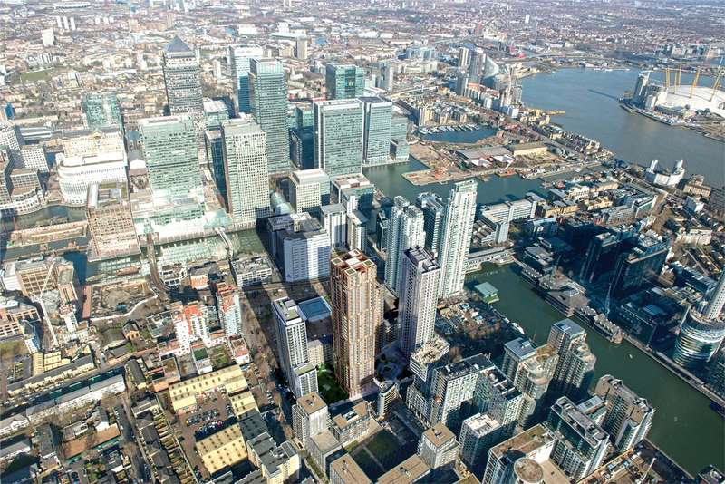 3 Bedrooms Flat for sale in Maine Tower, London, E14