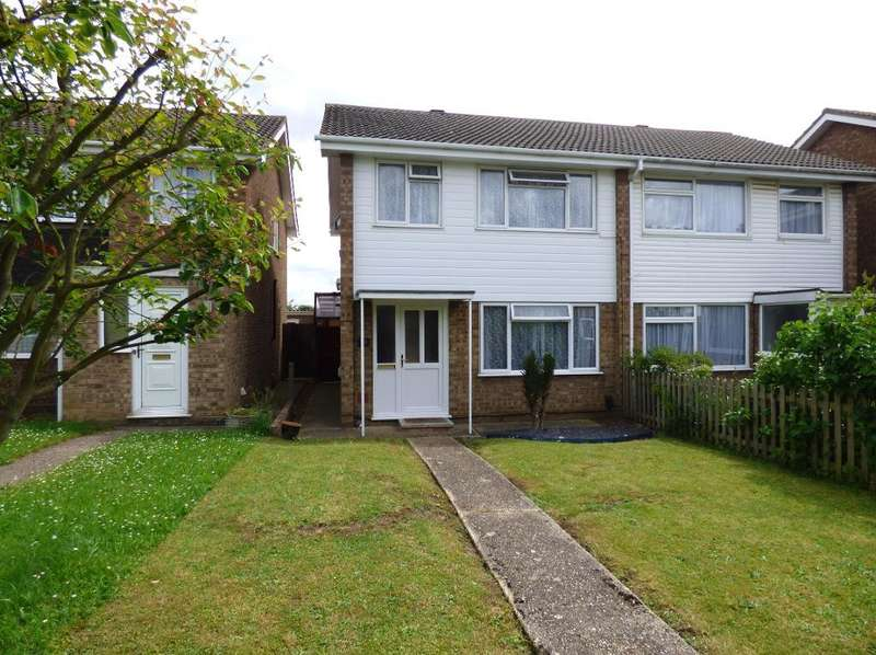 3 Bedrooms Semi Detached House for sale in Cherry Walk, Kempston, Beds, MK42 7PD