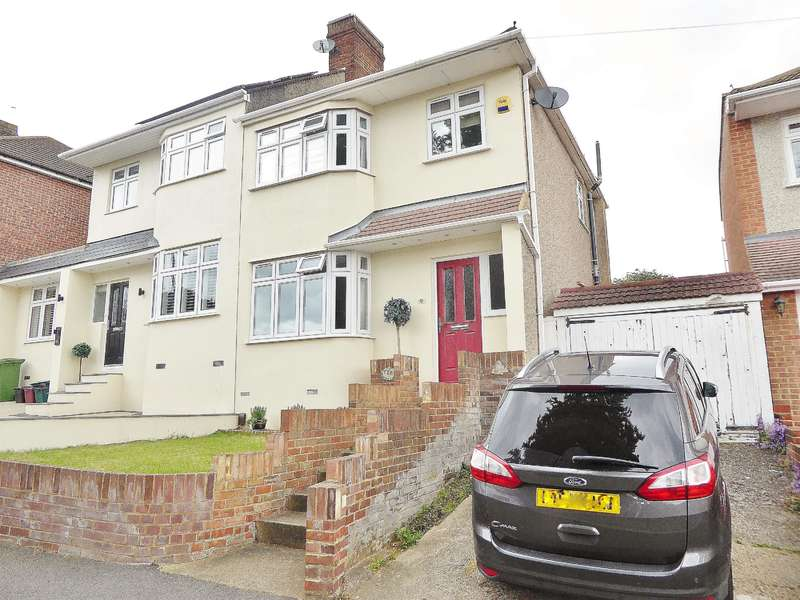 3 Bedrooms Semi Detached House for sale in Edwin Close, Bexleyheath, Kent, DA7 5QH