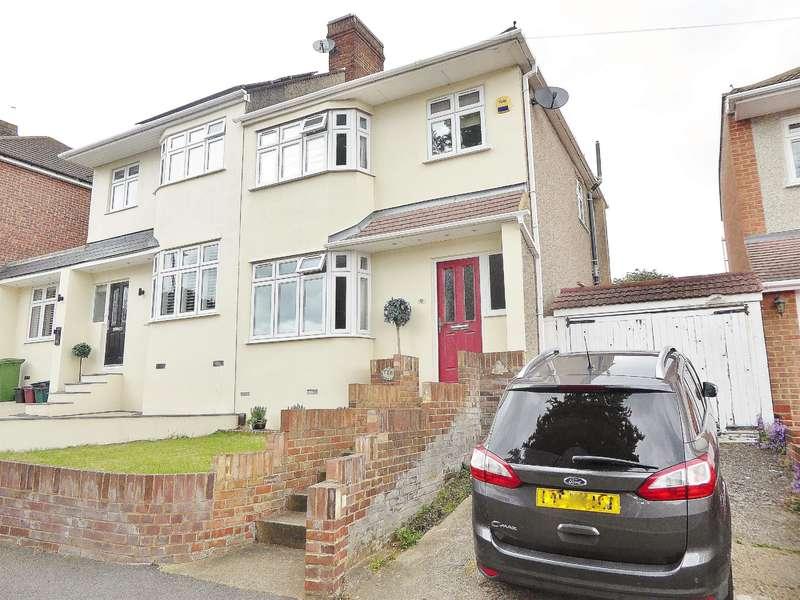 3 Bedrooms Semi Detached House for sale in Edwin Close, Bexleyheath, Kent, DA7 5QH