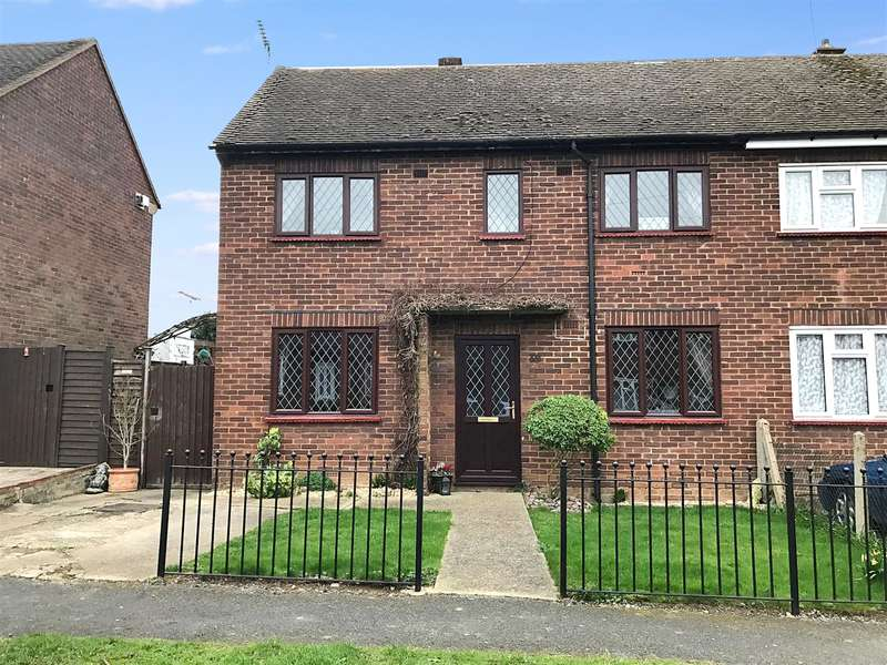 3 Bedrooms End Of Terrace House for sale in Broomwood Gardens, Pilgrims Hatch, Brentwood, CM15