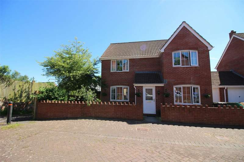 4 Bedrooms Detached House for sale in Cotford St Luke, TAUNTON, Somerset