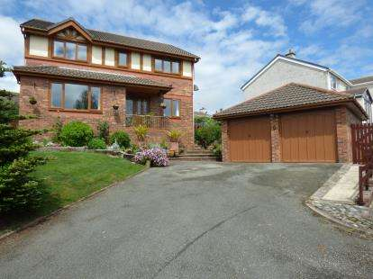 4 Bedrooms Detached House for sale in Collen Wen, Llanfairpwllgwyngyll, Sir Ynys Mon, North Wales, LL61