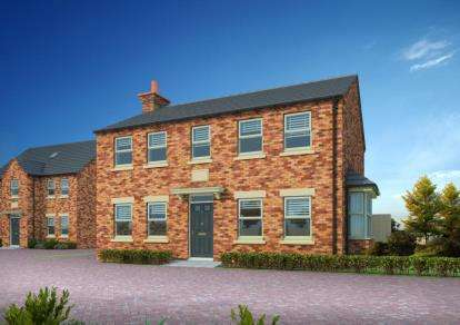 4 Bedrooms Detached House for sale in Papplewick Farm, Hucknall
