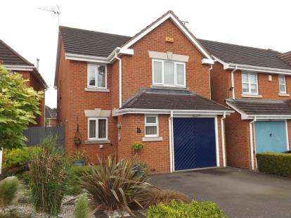 3 Bedrooms Detached House for sale in Whinlatter Drive, West Bridgford, Nottingham
