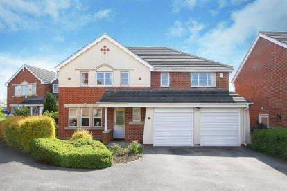 5 Bedrooms Detached House for sale in Myrtle Springs Drive, Gleadless, Sheffield