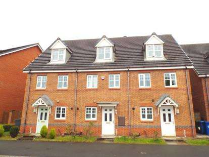 3 Bedrooms Terraced House for sale in Snowberry Crescent, Warrington, Cheshire