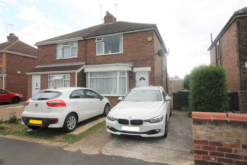 2 Bedrooms Semi Detached House for sale in Tennyson Avenue, Sprotbrough