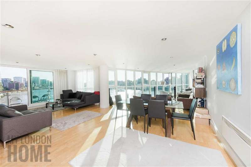 3 Bedrooms Property for sale in Drake House, St George Wharf, Vauxhall, London, SW8