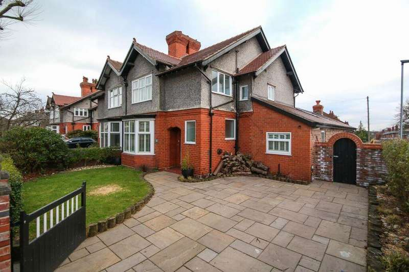 3 Bedrooms Property for sale in West Avenue, STOCKTON HEATH, Warrington, WA4