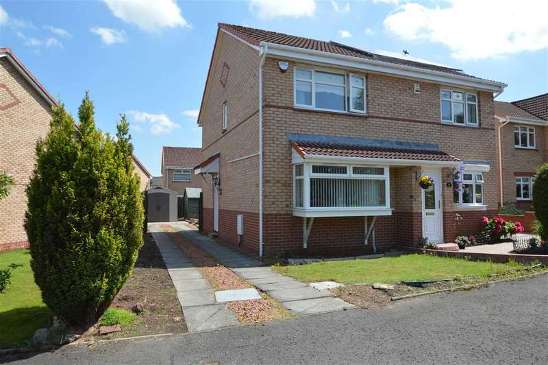2 Bedrooms Semi Detached House for sale in Redwood Grove, Coatbridge